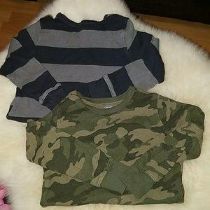 Two Boy Thermal Shirts